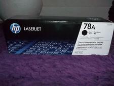 New HP 78A Genuine CE278A Black Toner Cartridge P1566, P1606