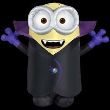 HALLOWEEN GONE BATTY MINION  YARD Despicable Me INFLATABLE AIRBLOWN 8 FT