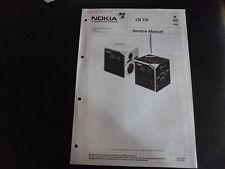 Original Service Manual  Nokia CR 721