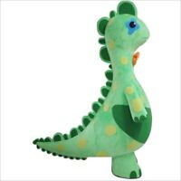 Green Dinosaur Mascot Costume Suit Character Mascotte Adulte Carnival Dress Gift