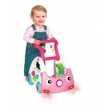 B Kids Senso Sensory 3 in 1 Baby Walker PINK