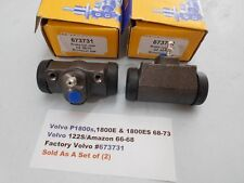 Volvo P1800s 67-71 & 122S 66-68 & Checkers 59-68 Rear Wheel Cylinder Set (2)