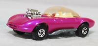 MATCHBOX SUPERFAST - SF-036B VER 9, HOT ROD DRAGUAR, PINK, LT YEL INT JB2679