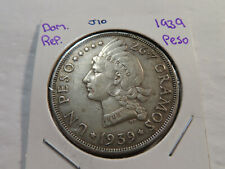 J10 Dominican Republic 1939 Peso