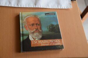 Tschaikowsky Triumph & Tragödie CD + Buch aus der Serie große Komponisten Neu