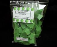 GREEN APPLE EXPLOSION Scented Tart Wax Melts Chunks Chips Home Candle Scents