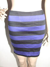 Above Knee A-Line Striped Skirts for Women