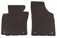 Original VW Gummifußmatten-Set vorne schwarz VW Golf Schriftzug 1K1061502A 82V