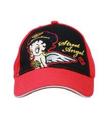 Betty Boop Angel Baseball Hat - Betty Boop Street Angel Baseball Cap