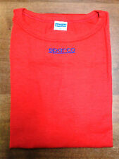 T-SHIRT SPARCO RACING UNDERWEAR NO FIA SIZE L  RED EXPIRED HOMOLOGATION MAGLIA