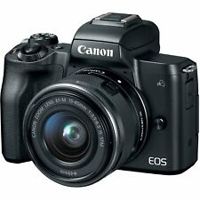 Canon - EOS M50 Mirrorless Camera with EF-M 15-45mm f/3.5-6.3 IS STM Zoom US*3