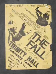 The Fall 1980 Bristol A3 Original Punk Concert Gig Tour Poster
