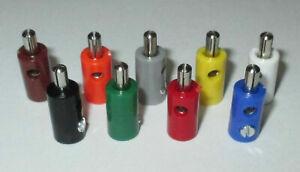 (Stck 23,9-24,9 ct) Stecker/Querlochstecker 2,6mm  AUSWAHL > Farbe/Stückzahl