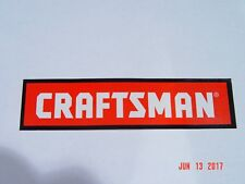 "Craftsman Sticker Lot of 2 Bumper Tool Box 6"" x 1 1/2"""