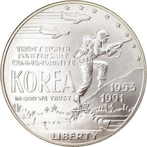 [#788525] Coin, United States, Guerre de Corée, Dollar, 1991, U.S. Mint, Denver
