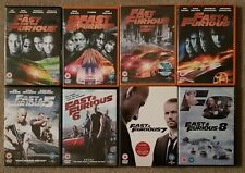 DVD Boxset - The Fast & Furious Complete Collection 1-8 - 3 DVDs still SEALED