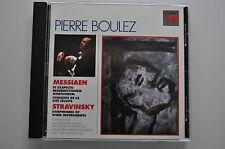 Messiaen, Stravinsky-Pierre Boulez, Yvonne Loriod-CD 1995