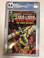 Marvel Spotlight V2 (1980) #6 CGC (9.4 NM WP)   1st App Star-Lord (Peter Quill)