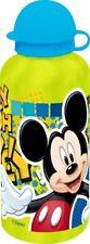 Aluminium Trinkflasche Kindergarten KiTa Schule Disney Mickey Maus gelb