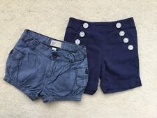 GAP Lot Of 2 Pairs Of Girls Cotton Shorts Age 2T (18-24 Months)