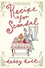 Recipe for Scandal, Holt, Debby, New Book