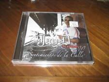 Latin Reggaeton CD Jay-D El Bandido - Sentimientos de la Calle - Puerto Rican