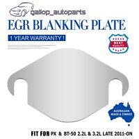 EGR Blanking Plate For Ford PX PX2 Ranger Fit Mazda BT 50 3.2L TDCi 2.2L Engine