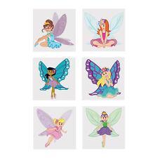 36 Princesa De Hadas con Purpurina Tatuajes Mariposa Alas Cumpleaños