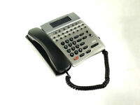 NEC Dterm 80 Digital IP Phone DTH-16D-2(BK)TEL w/ Handset, Stand & Cord - TESTED