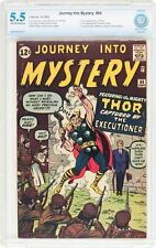 Journey Into Mystery #84 CBCS 5.5 1962 2nd Thor! 1st Jane Foster! Like CGC F8 cm