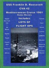 Uss Franklin D Roosevelt Cva-42 1961 Med Cruise Video