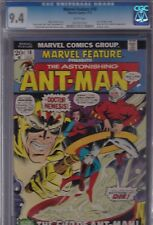 MARVEL FEATURE #10 CGC 9.4 NM WHITE pages JUL 1973 ANT-MAN - WASP AVENGERS