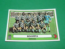 PANINI EURO FOOTBALL 78 N°213 BOAVISTA PORTUGAL 1977-1978