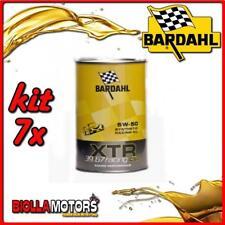 KIT 7X LITRO OLIO BARDAHL XTR C60 RACING 39.67 5W50 1LT - 7x 306039
