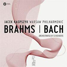 CD BRAHMS / BACH Warsaw Philharmonic KASPSZYK SCHOENBERG