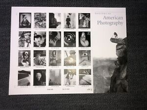 US Masters of American Photography Sheet of 20 37c Stamps