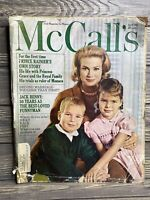 Vintage Magazine Mccall's April 1963