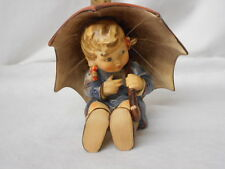 "Hummel 152/0 B ""Umbrella Girl"" TMK-5 Figurine 1957 By Goebel Artist Signed"