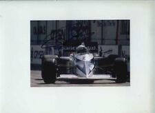 Riccardo Patrese Brabham BT52 USA West Grand Prix 1983 Signed Photograph 1