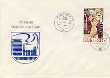 Ersttagsbrief DDR MiNr. 2053, 25 Jahre Eisenhüttenstadt