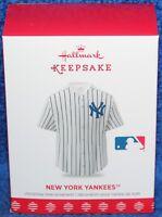 2018 Hallmark Keepsake New York Yankees Jersey Ornament ~ NIB