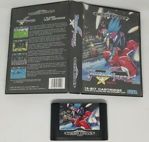 Burning Force - Sega Mega Drive