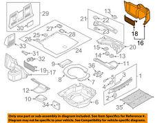 AUDI OEM 11-12 A8 Quattro Interior-Rear-Trunk Side Trim Right 4H0863880C9X7