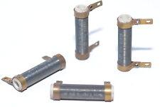 4x Vintage Draht-Widerstand f. Röhrenverstärker, 500 Ohm, 4 W, unmagnetisch, NOS