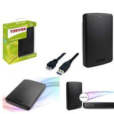 "Disco Duro Externo 2,5"" 500GB-1TB-2TB-3TB Toshiba Autoalimentado USB 2.0/3.0"