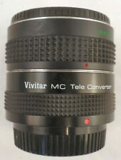 Vivitar MC Tele Converter 2x PK-A,R-PK & IMAGE TELECONVERTER PK 2X