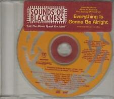 Sounds Of Blackness: Everything Is Gonna Be Alright PROMO w/ Artwork MUSIC CD LP