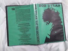 Bob Dylan Eat the Document dvd plus bonus Free Shipping
