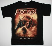 ACCEPT BLIND RAGE WORLD TOUR DATES 2014 U.D.O. HEAVY METAL NEW BLACK T-SHIRT