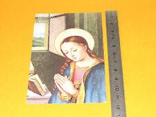 CHROMO 1973 CATHOLICISME IMAGES PIEUSES HOLY CARD IMMACULEE CONCEPTION